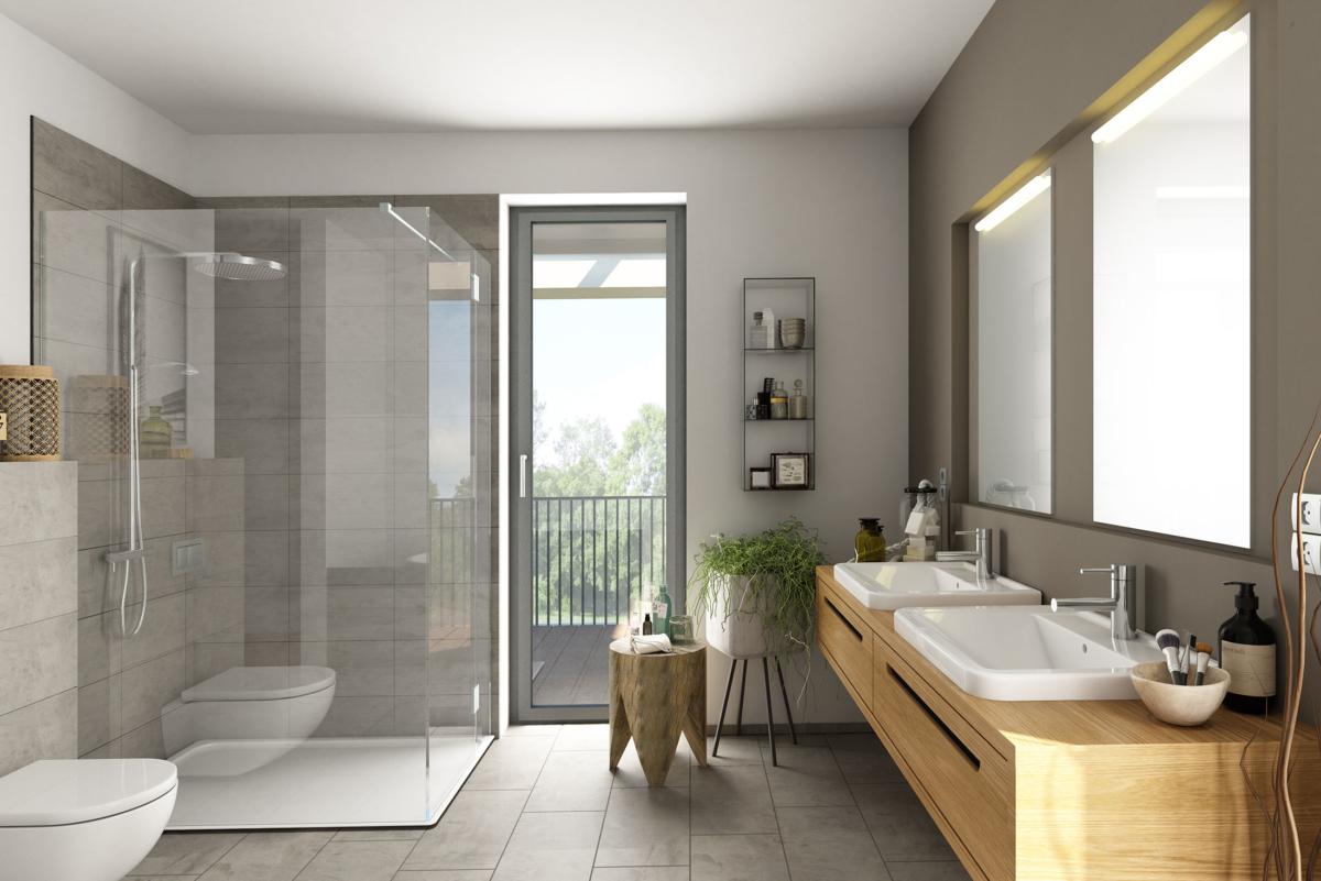 plomberie baignoire douche italienne
